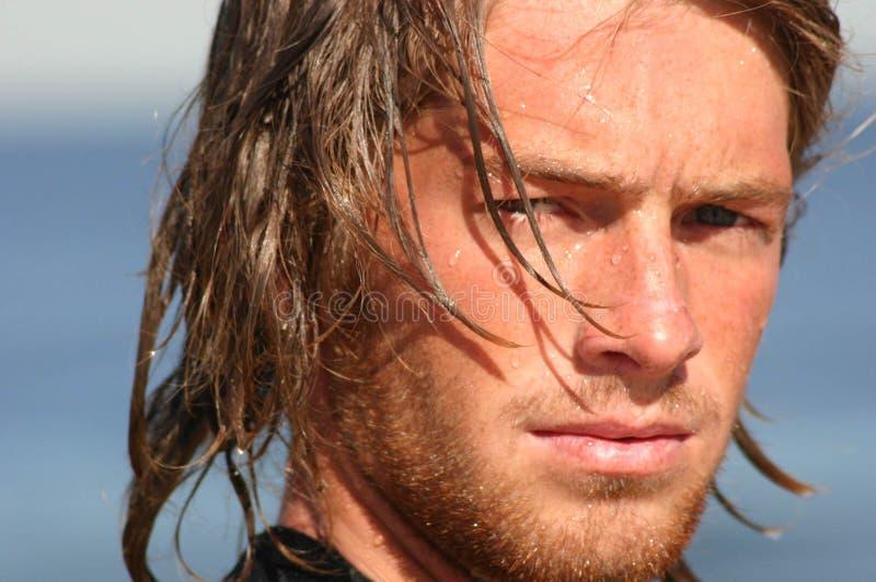 Visão dos surfistas imagem de stock