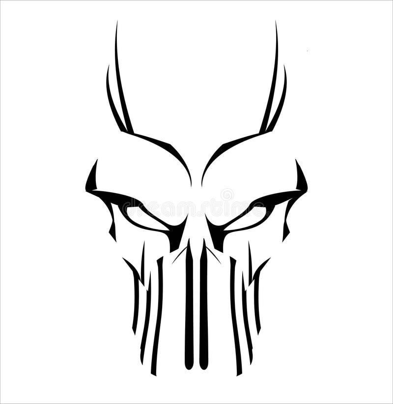 vis Wirusowy komputer demonetyzacja fantom obcy predator ilustracja wektor