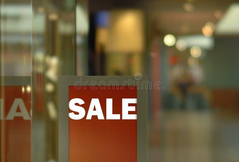 visa försäljningen arkivbild