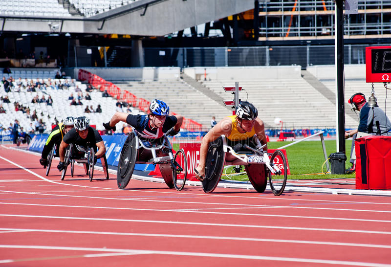 Download Visa London Disability Athletics Challenge Editorial Photography - Image: 24697237