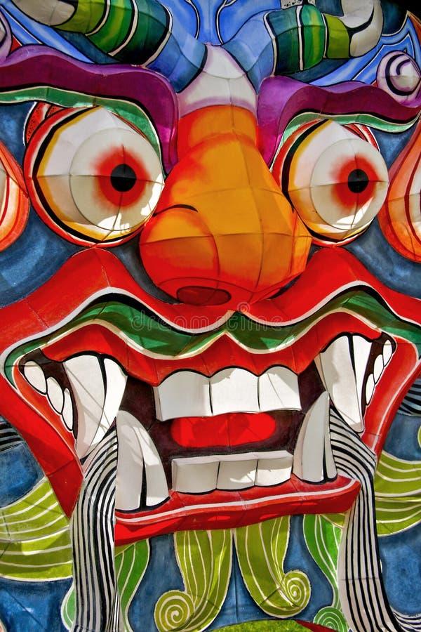 Download Visage chinois de dragon photo stock. Image du coloré - 8661356