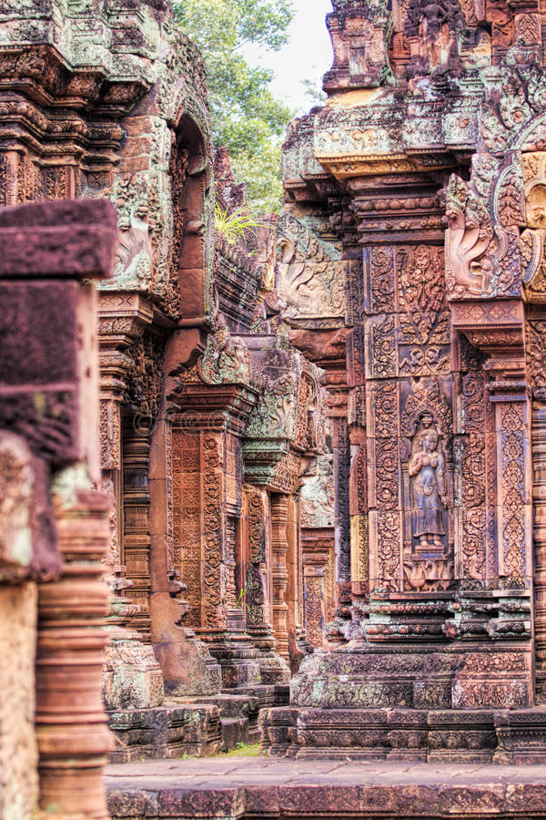 Download Visage d'Angkor Wat photo stock. Image du religion, bouddhiste - 77152390