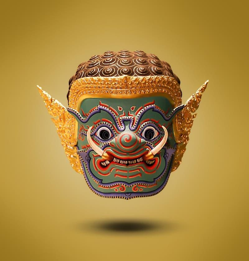 Visage d'art de géant Thaïlande image stock