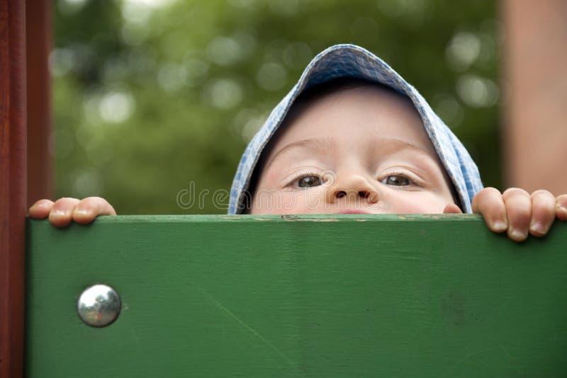 Visage d'enfant photo stock