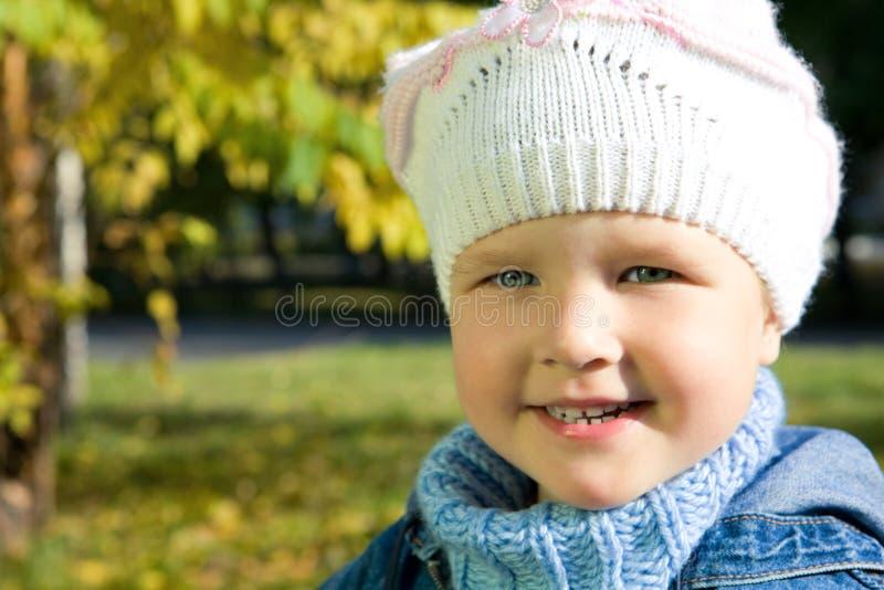 Visage d'enfant de beauté images stock