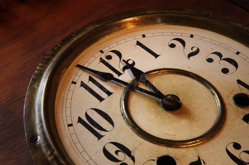 Visage d'horloge images stock