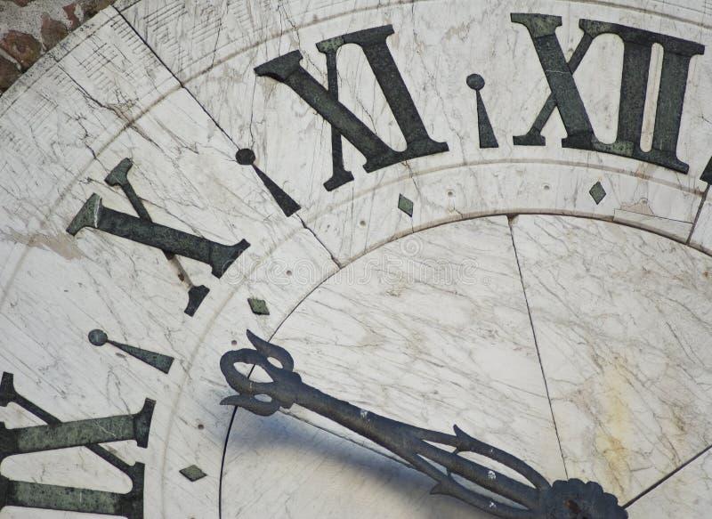Visage d'horloge antique photos stock
