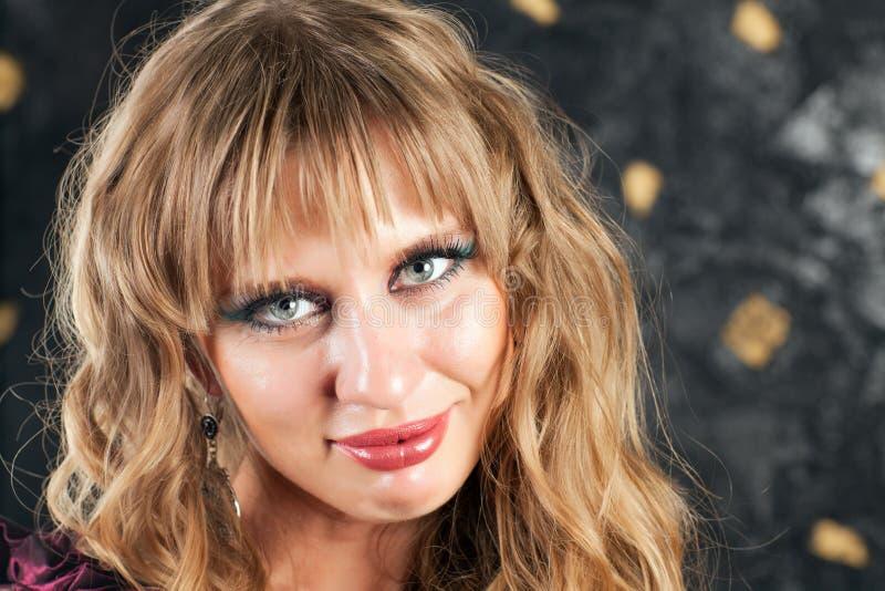 Visage d'une belle femme photos libres de droits