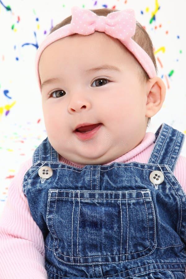 Visage de bébé images stock