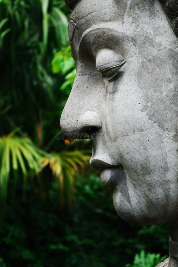 Visage de Bouddha images stock