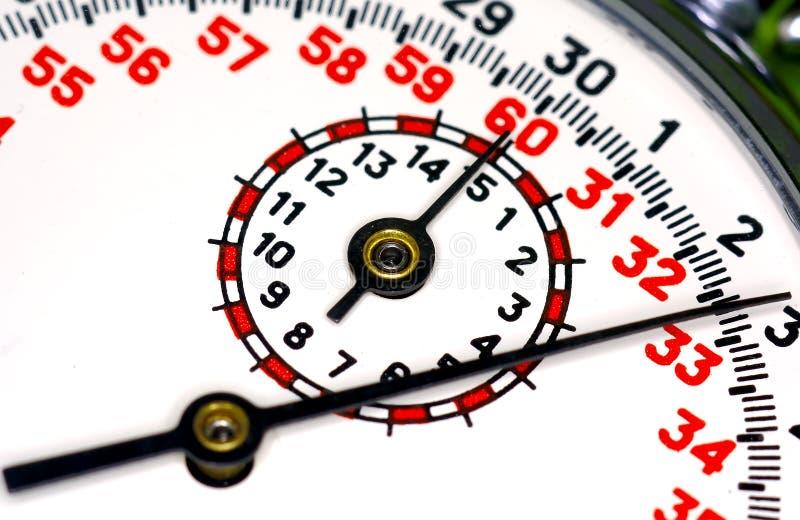 Visage de chronomètre photos libres de droits