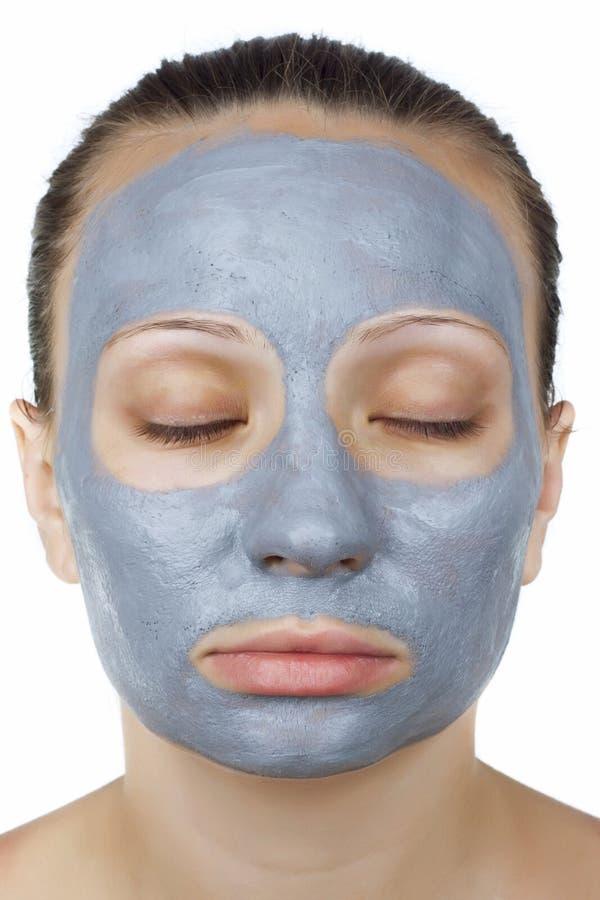 Visage de masque de femme photos libres de droits