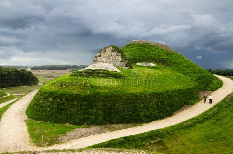 Visage de Northumberlandia photo stock