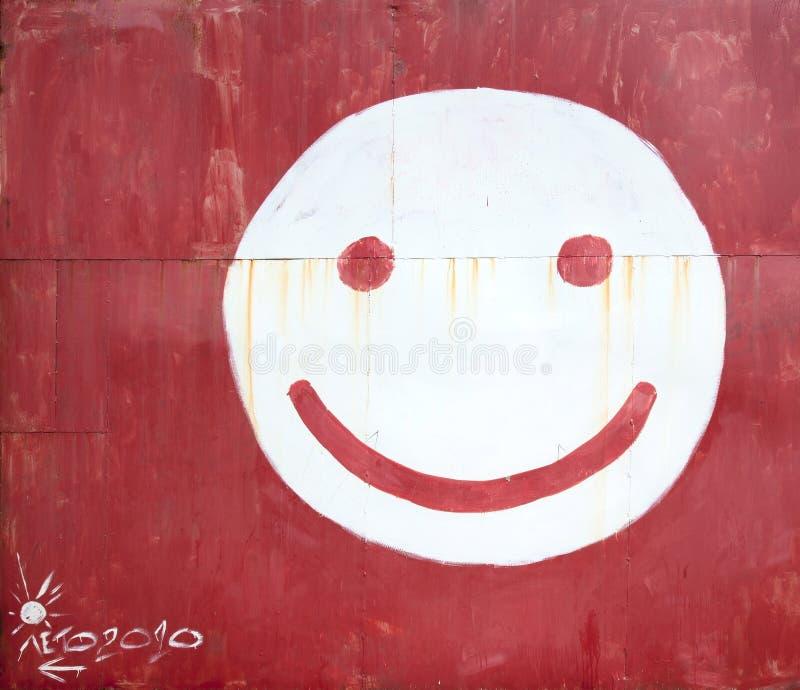 Visage De Smiley De Symbole Images libres de droits
