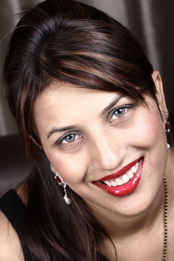 Visage de sourire photo libre de droits