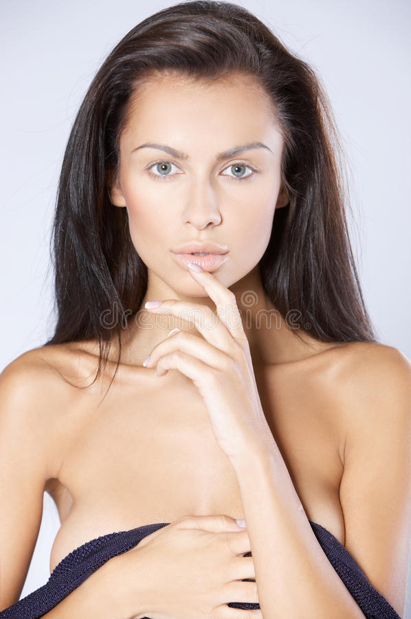 Visage sexy images stock