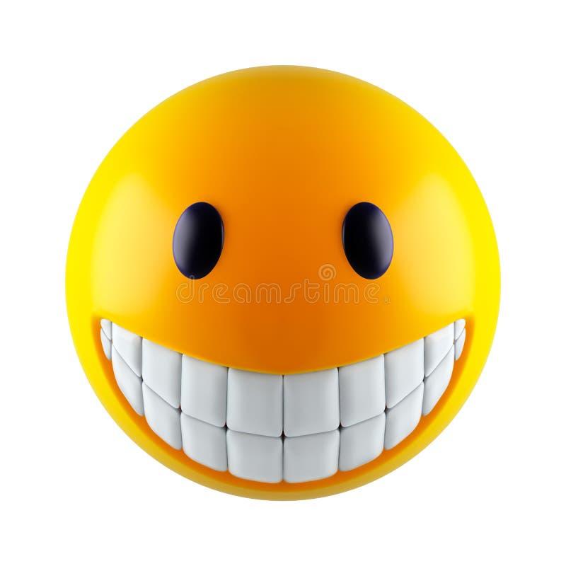 Visage souriant illustration libre de droits