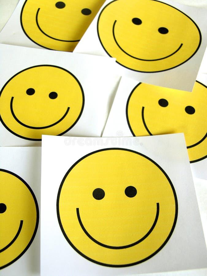 Visage souriant photographie stock