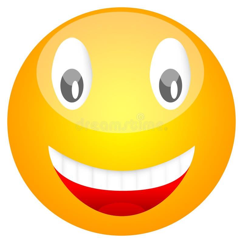 Visage souriant photographie stock libre de droits