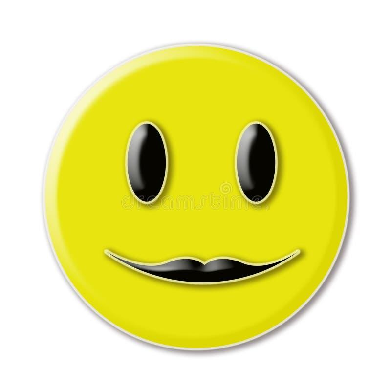 Visage souriant heureux images libres de droits