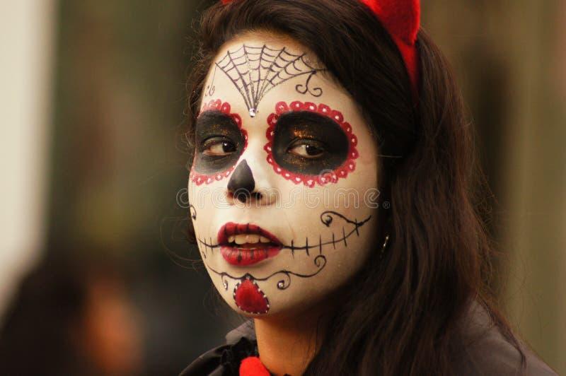 Visage, tête, masque, zombi photos stock