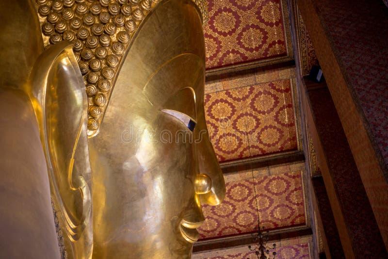 Visage thaïlandais de Tradditional de Bouddha photo stock