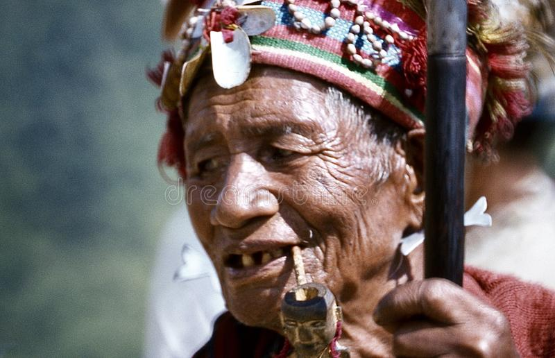 visages ( ; Banaue philippin 1981) ; photo stock