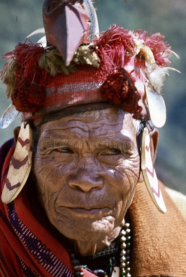 visages ( ; Banaue philippin 1981) ; photos libres de droits