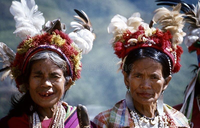 visages ( ; Banaue philippin 1981) ; image libre de droits