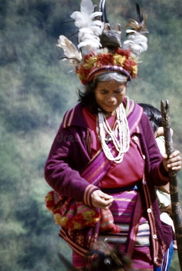 visages ( ; Banaue philippin 1981) ; image stock