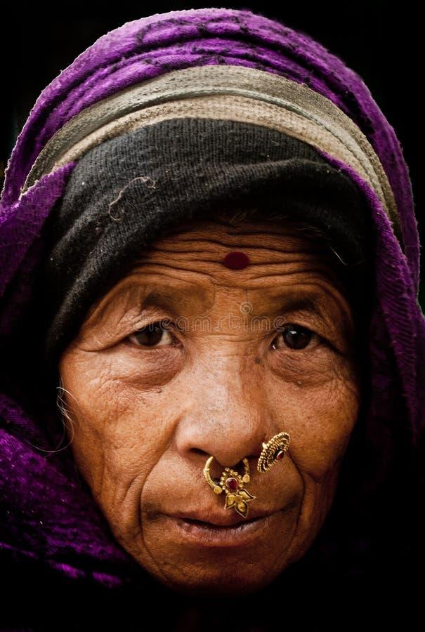 Visages de Gangtok photos stock