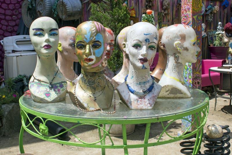 Visages de mannequin photos stock