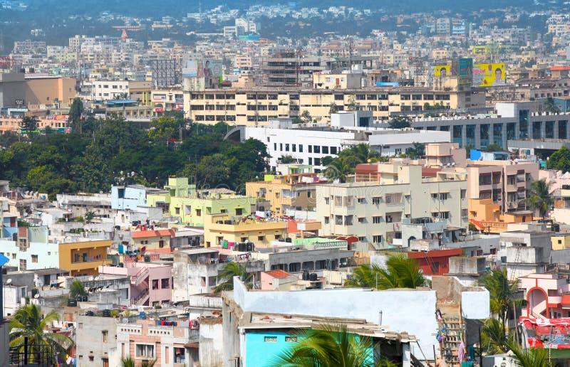 Visakhapatnam stad i INDIEN royaltyfri fotografi