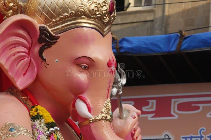 Visarjan Ganpati stock afbeelding
