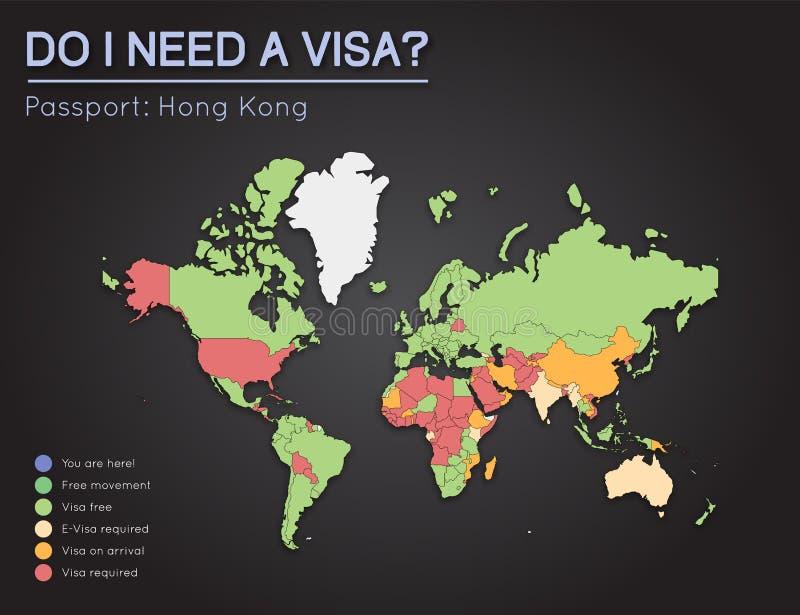 Visas information for hong kong passport holders stock vector download visas information for hong kong passport holders stock vector illustration of presentation gumiabroncs Images