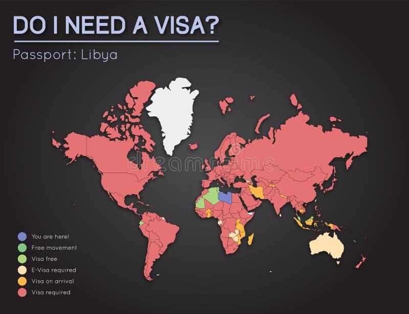 Visas information for libya passport holders stock vector download visas information for libya passport holders stock vector illustration of info arrival gumiabroncs Choice Image