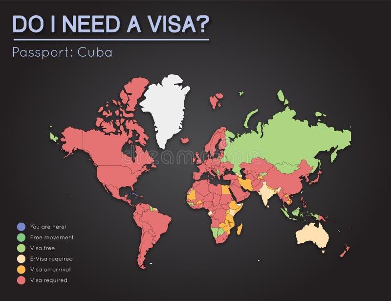 download visas information for republic of cuba passport stock vector illustration of democratic
