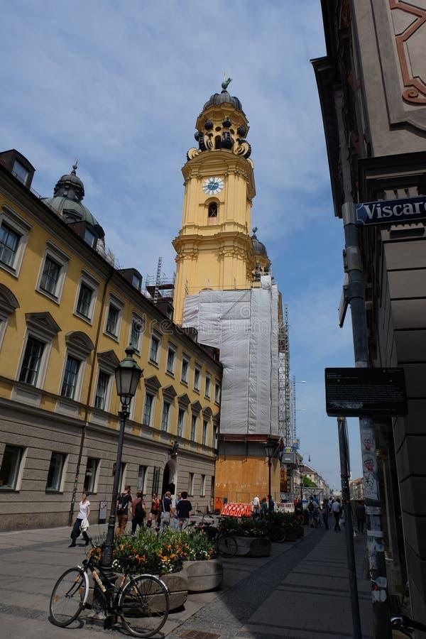 Viscardigasse, München royalty-vrije stock foto