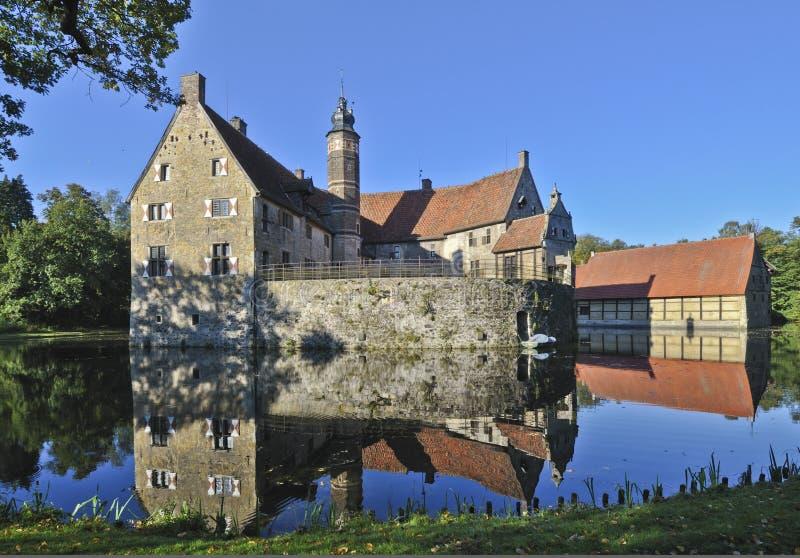 Vischering Schloss lizenzfreies stockfoto