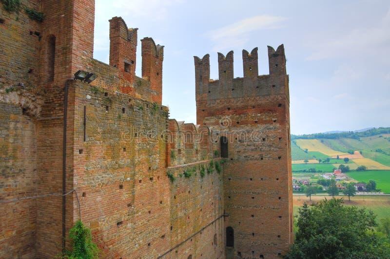 Visconti Castle. Castell'Arquato. Emilia-Romagna. Italy. royalty free stock photos