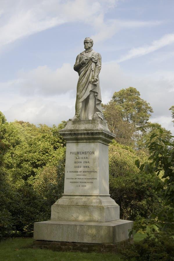 Download Viscount Palmerston Statue, Southampton Stock Image - Image: 27119651