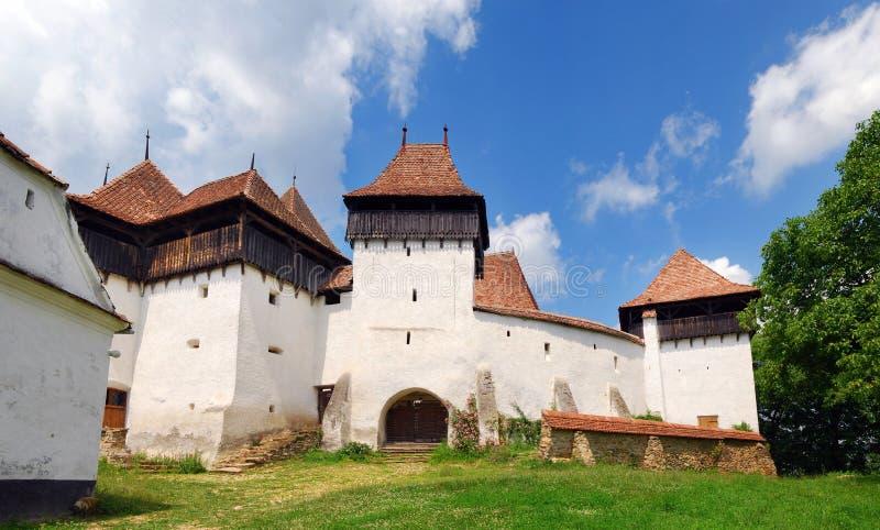 Download Viscri Fortificou A Igreja Em Romania Foto de Stock - Imagem de alemão, saxon: 10056820