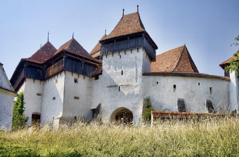 Viscri Fortress royalty free stock photo