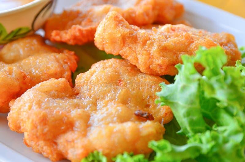 Viscroquetje, Voedsel Thai royalty-vrije stock afbeeldingen