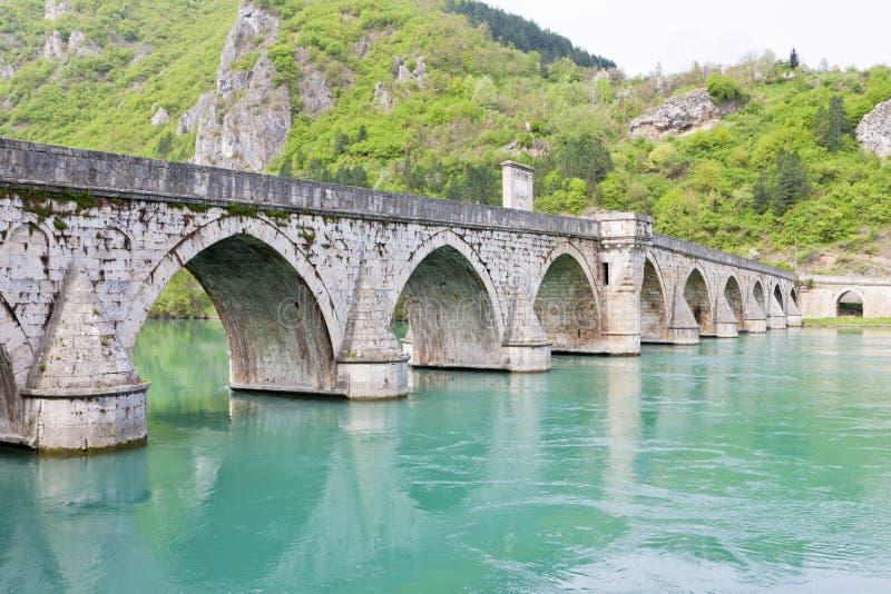 Visegrad, Bosnia en Hercegovina royalty-vrije stock foto