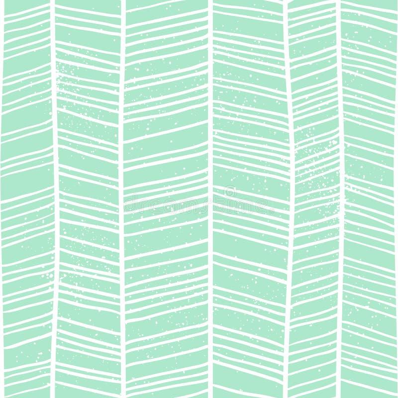Visgraat naadloos patroon stock illustratie