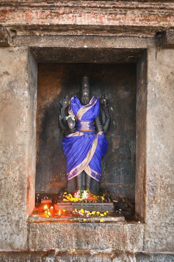Vishnu Bild, Flachrelief lizenzfreies stockfoto