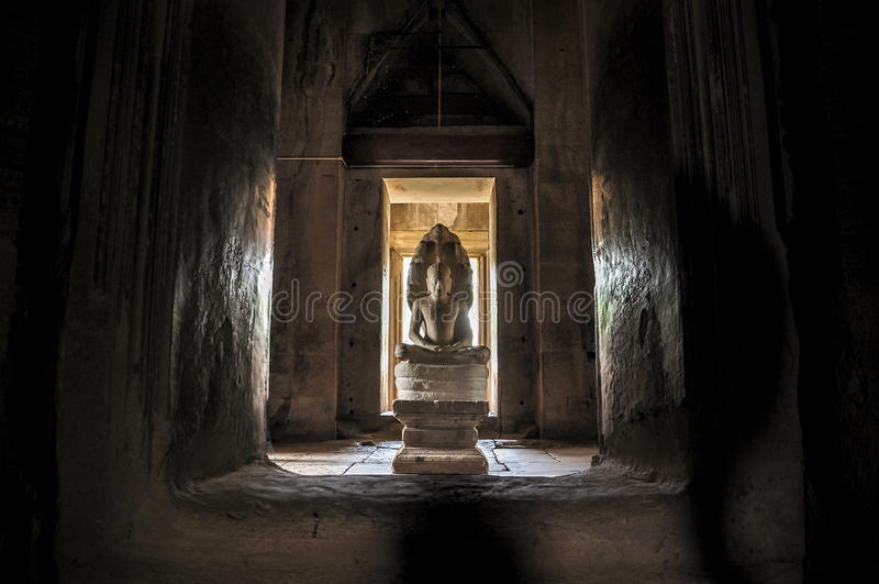 Vishnu, Phanom sonó el parque histórico fotografía de archivo