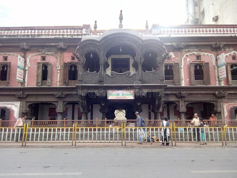 Vishrambagh Wada стоковая фотография