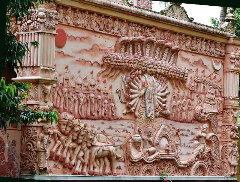 Vishvarupa Darshan 免版税图库摄影